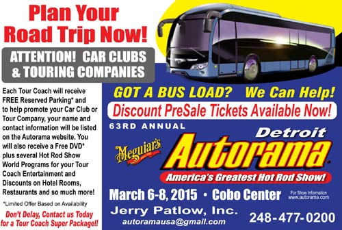 Autorama Bus Tour Ad