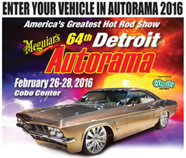 Enter Your Vehicle in Autorama 2016